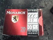 MONARCH .223 55GR FMJ  20RDS
